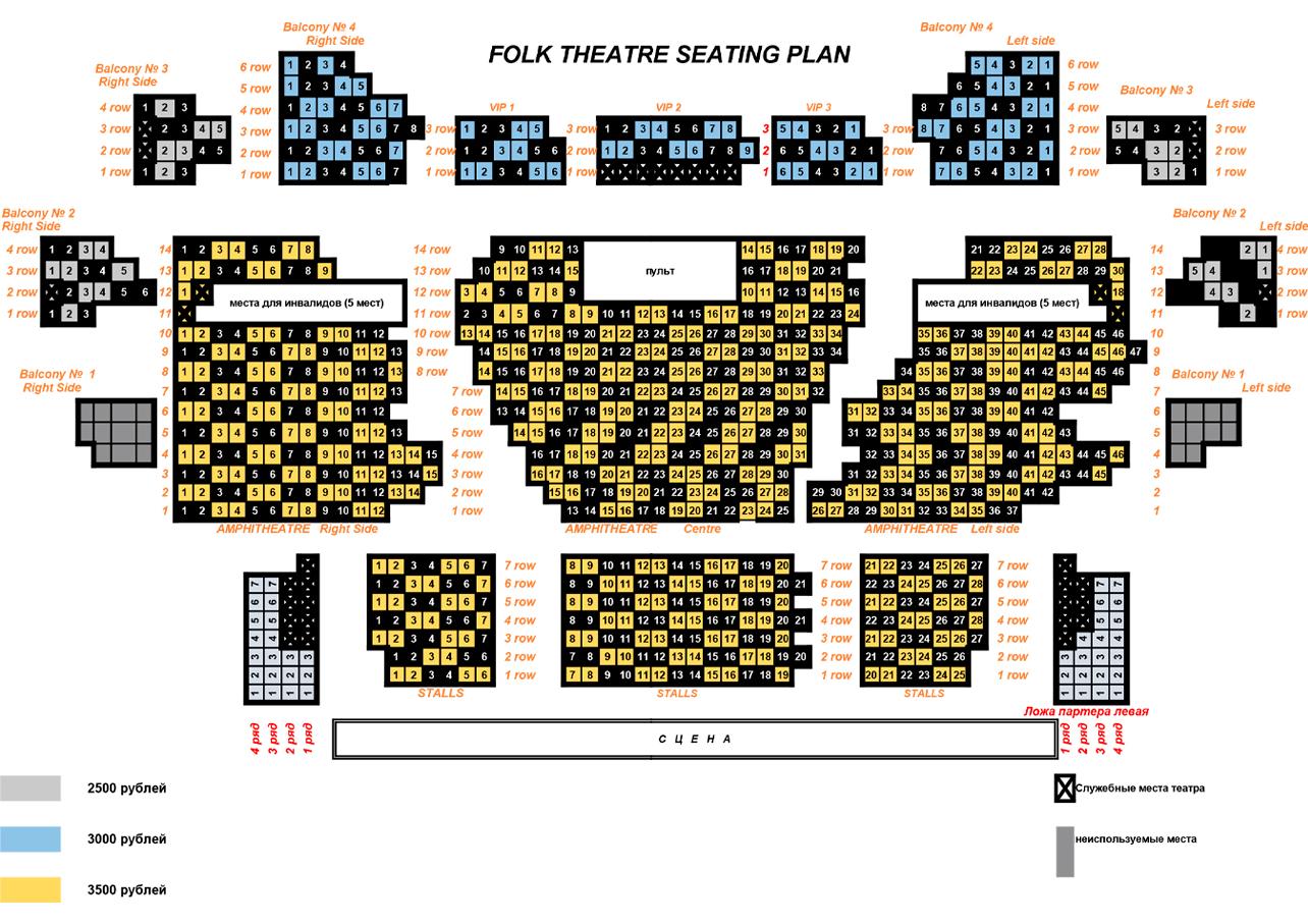 Seats Plan