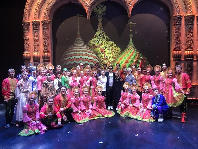 «Русский национальный балет «Кострома» завершил XIV сезон в Москве.