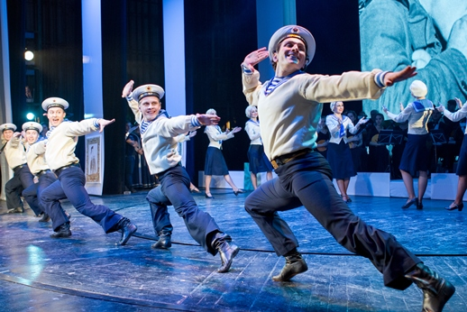 «Русский национальный балет «Кострома» поздравил жителей Твери с Днем защитника Отечества.