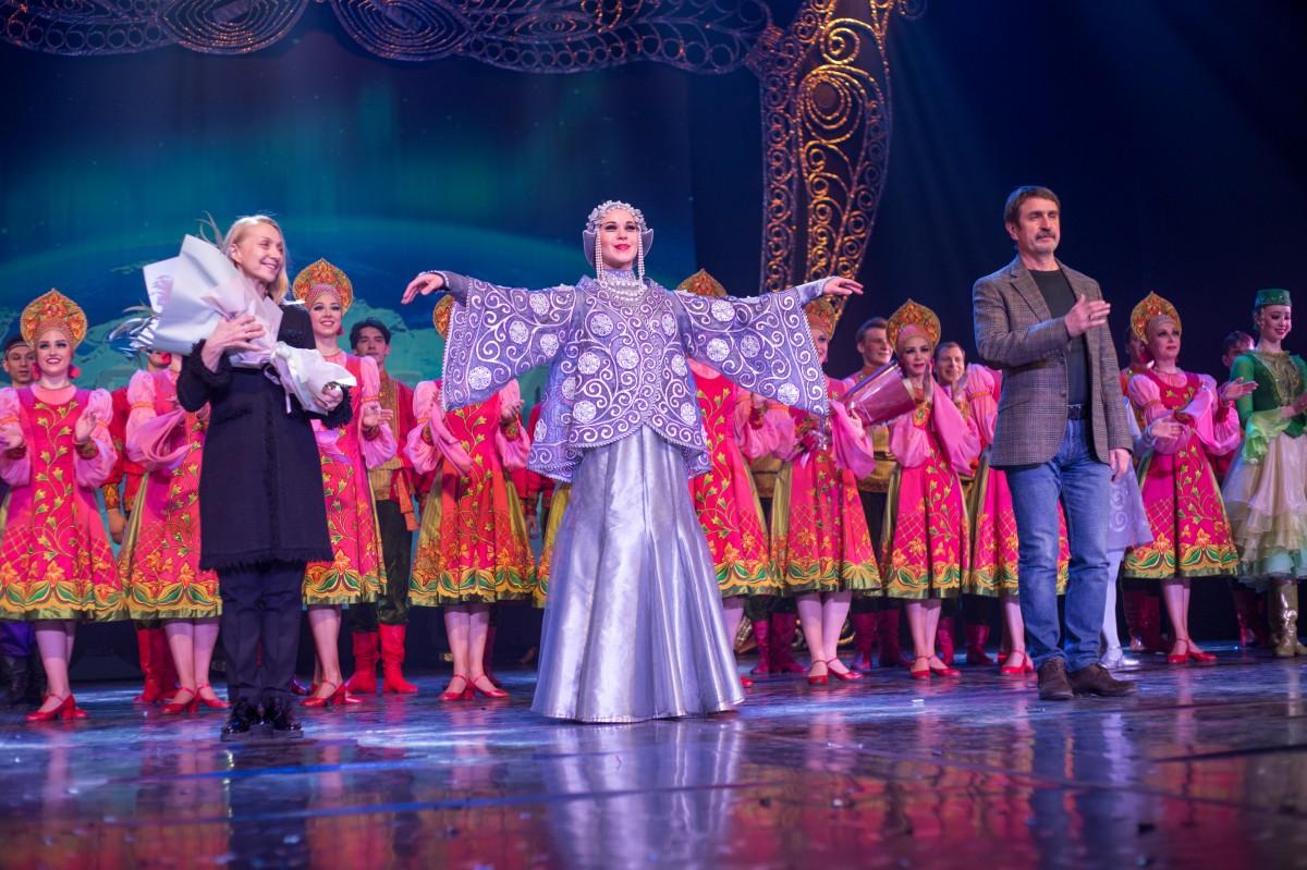 Балет «Кострома» открыл Дни культуры Костромской области в Республике Тыва
