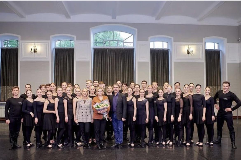 Министр культуры РФ Ольга Борисовна Любимова посетила «Русский национальный балет «Кострома».