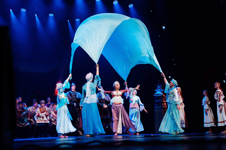 Список гастролей «Русского национального балета «Кострома» дополнил город Ставрополь