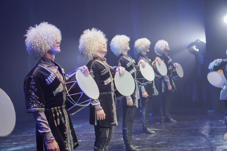 Русский национальный балет «Кострома» представил свой регион зрителям столицы Чеченской Республики