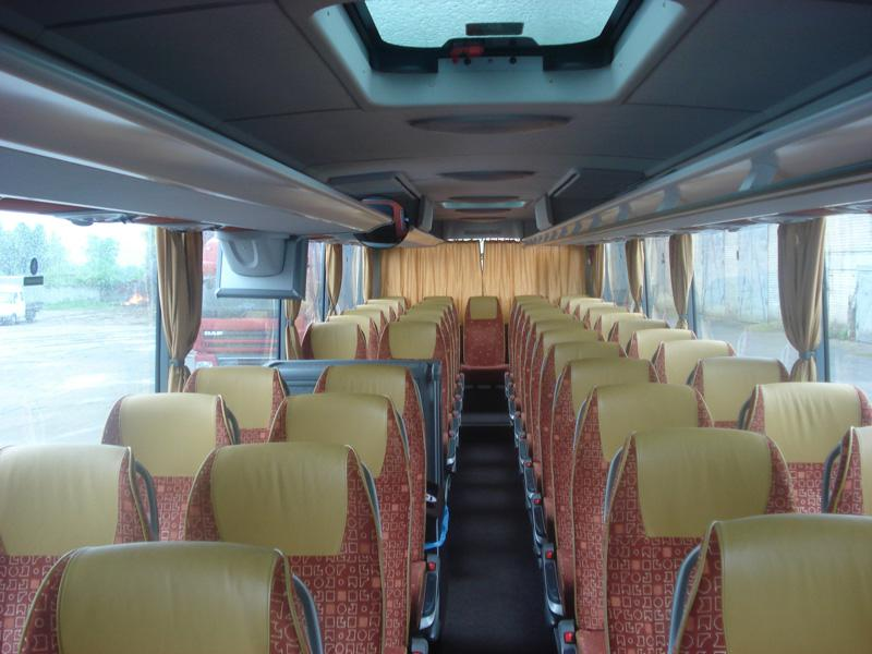 Russebuss Interir. Gallery Of Train Interior Seats Door In The Background Hd Stock Video Clip ...
